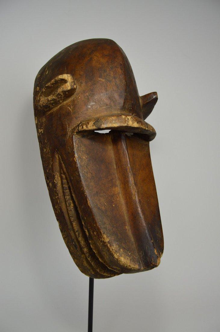 Old Bambara Hyena Mask, African Art - 4