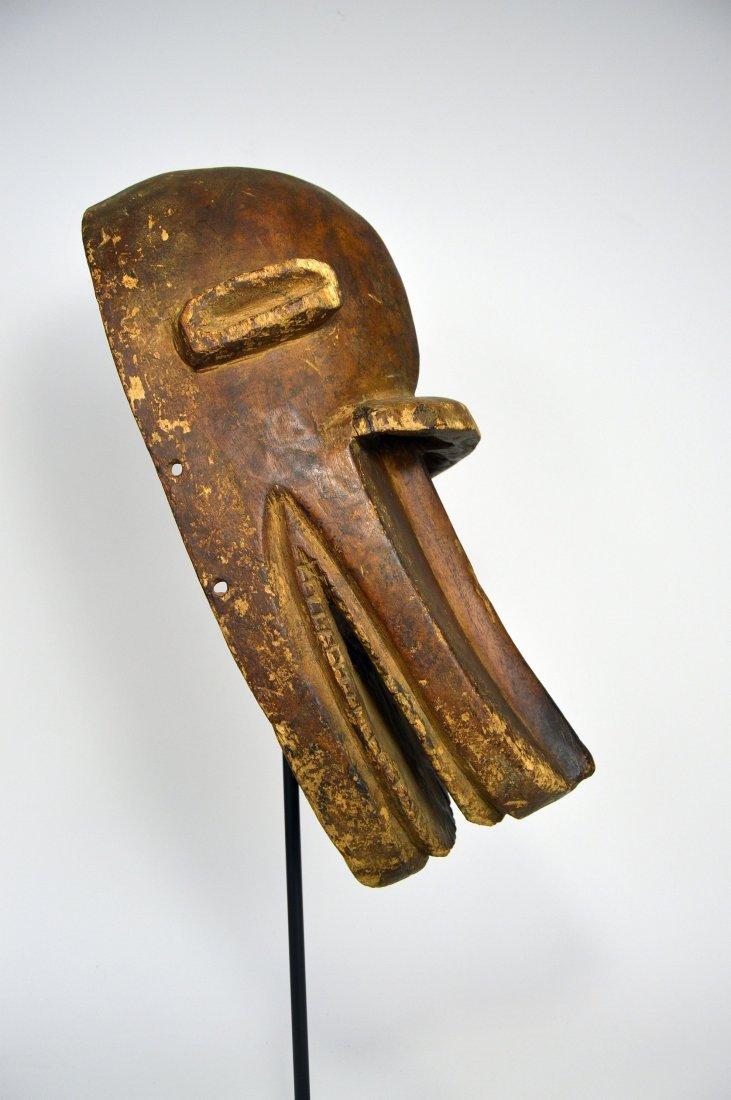 Old Bambara Hyena Mask, African Art - 6