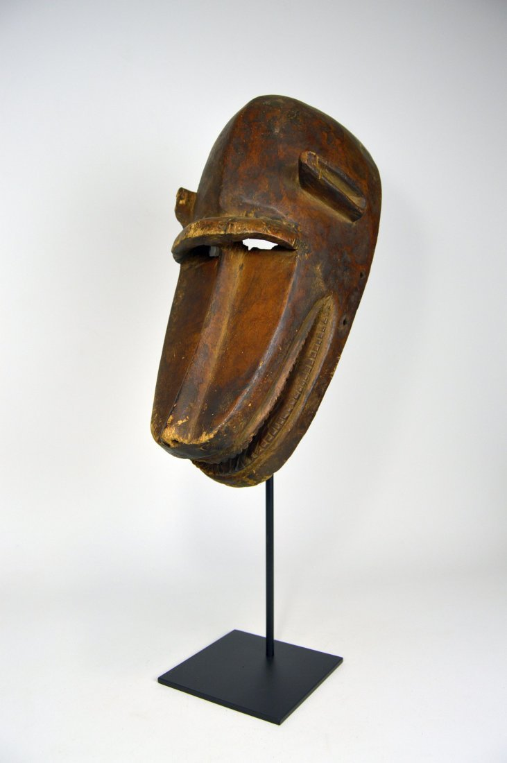 Old Bambara Hyena Mask, African Art - 7
