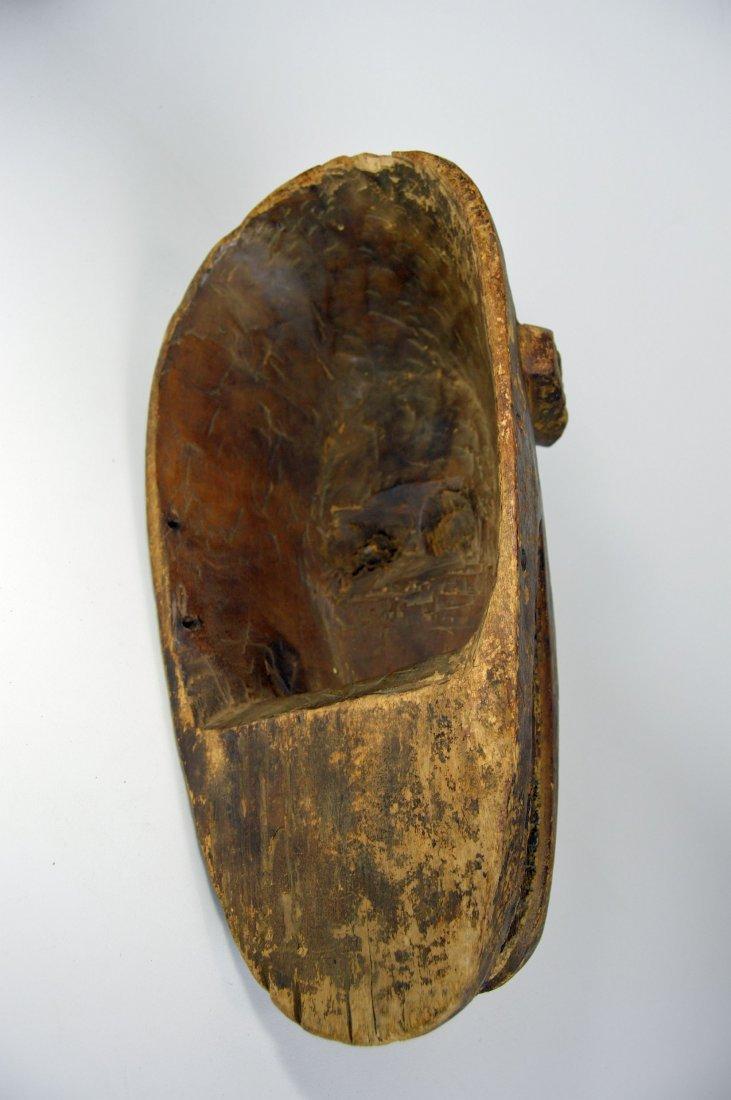 Old Bambara Hyena Mask, African Art - 8