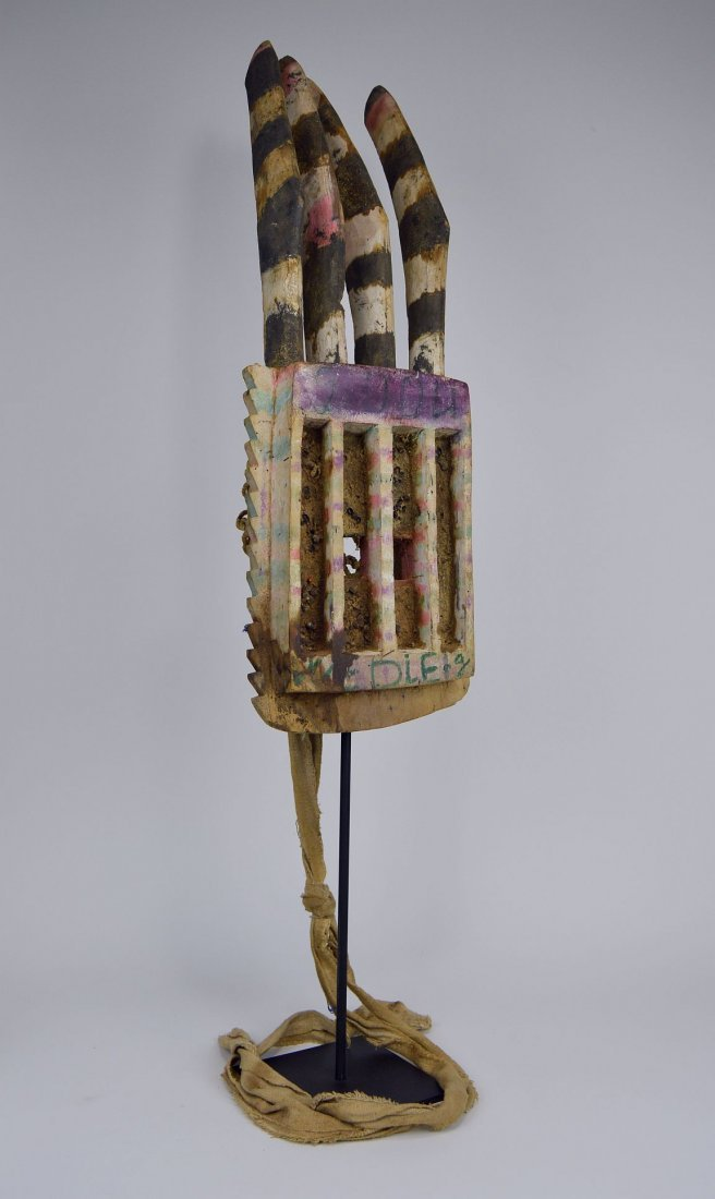 Wonderfully Abstract Field Used Dogon Walu African mask - 3