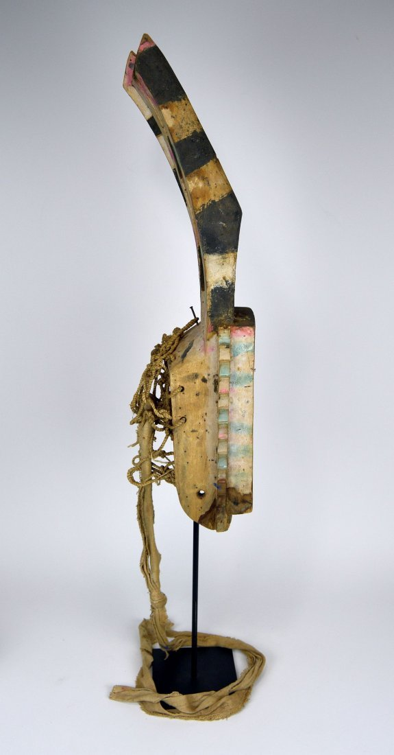 Wonderfully Abstract Field Used Dogon Walu African mask - 4