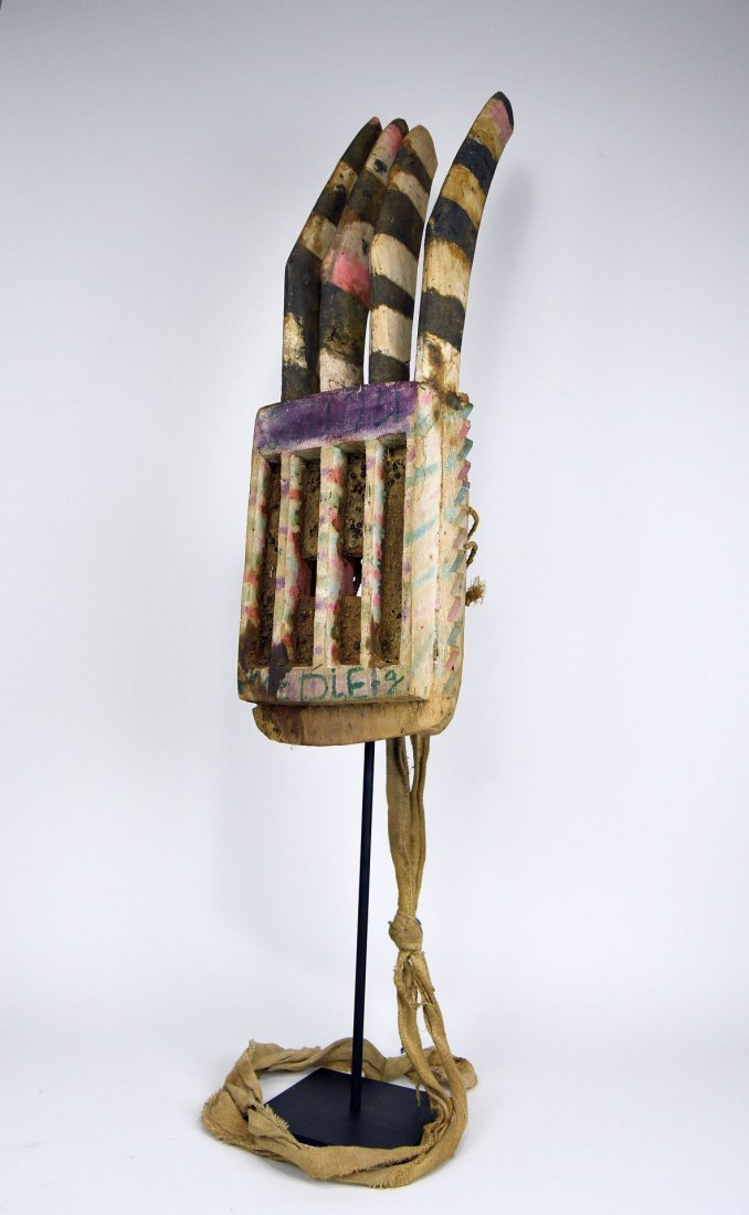 Wonderfully Abstract Field Used Dogon Walu African mask - 5