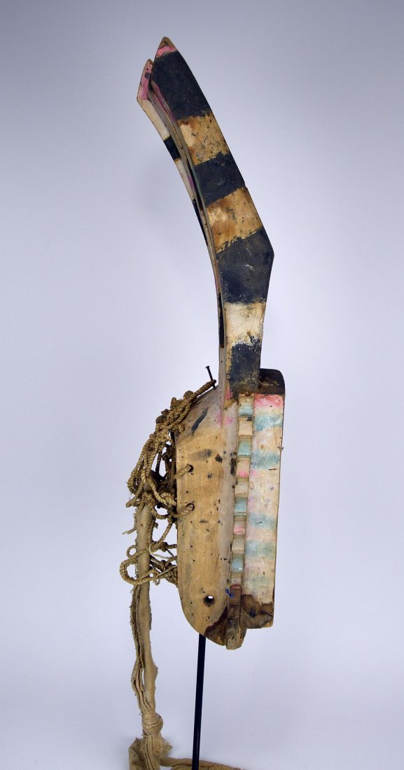 Wonderfully Abstract Field Used Dogon Walu African mask - 9