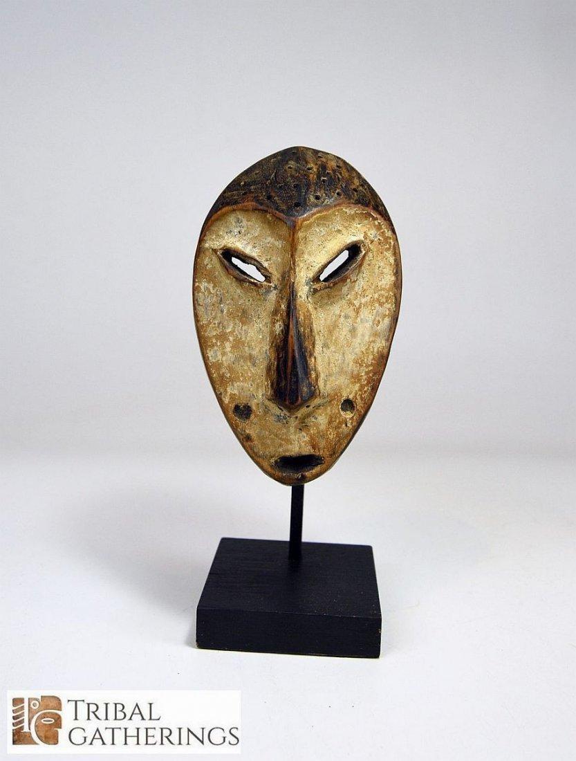 Lega Bwami society African mask