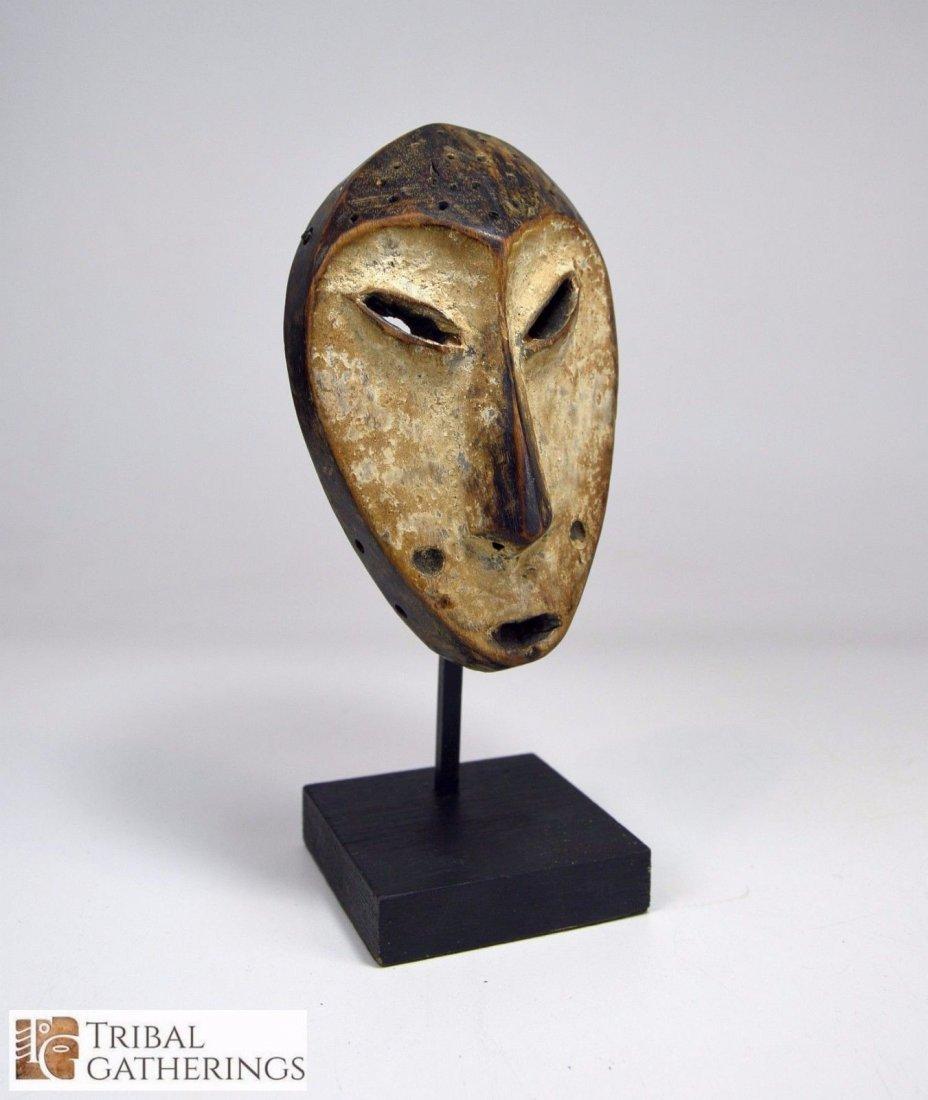 Lega Bwami society African mask - 2