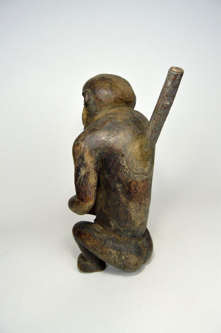"Mbra Monkey \""fetish\"" sculpture, African Art - 3"