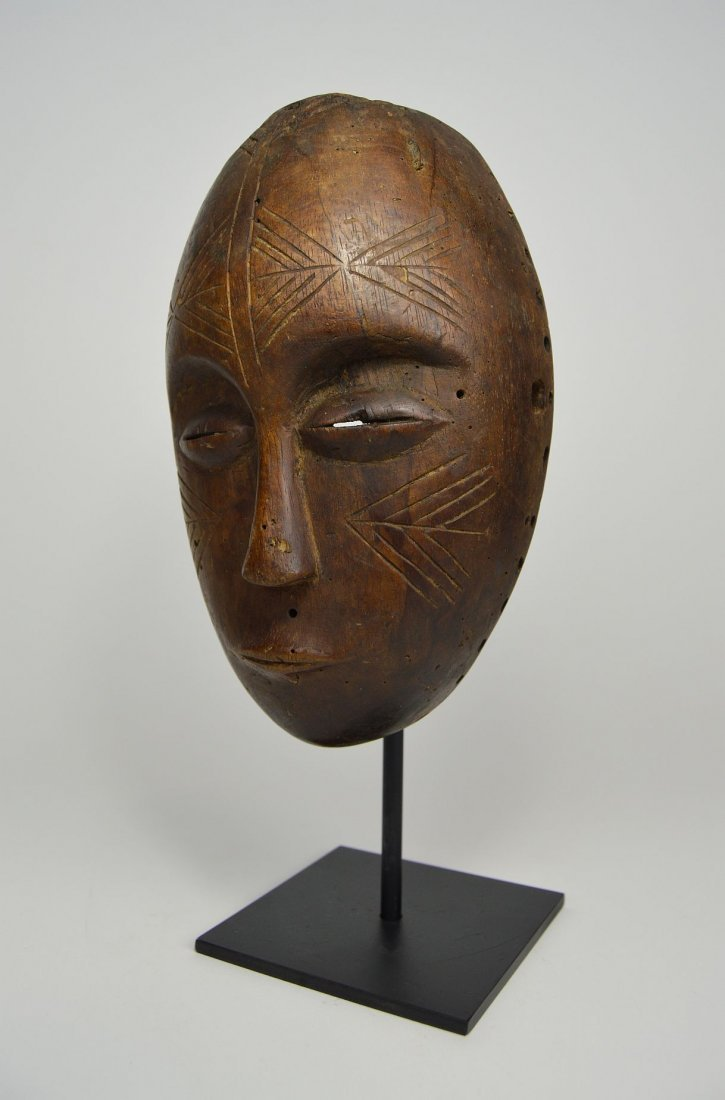 Serene Old Chokwe Mask, African Art - 2