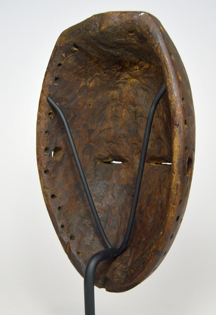 Serene Old Chokwe Mask, African Art - 6