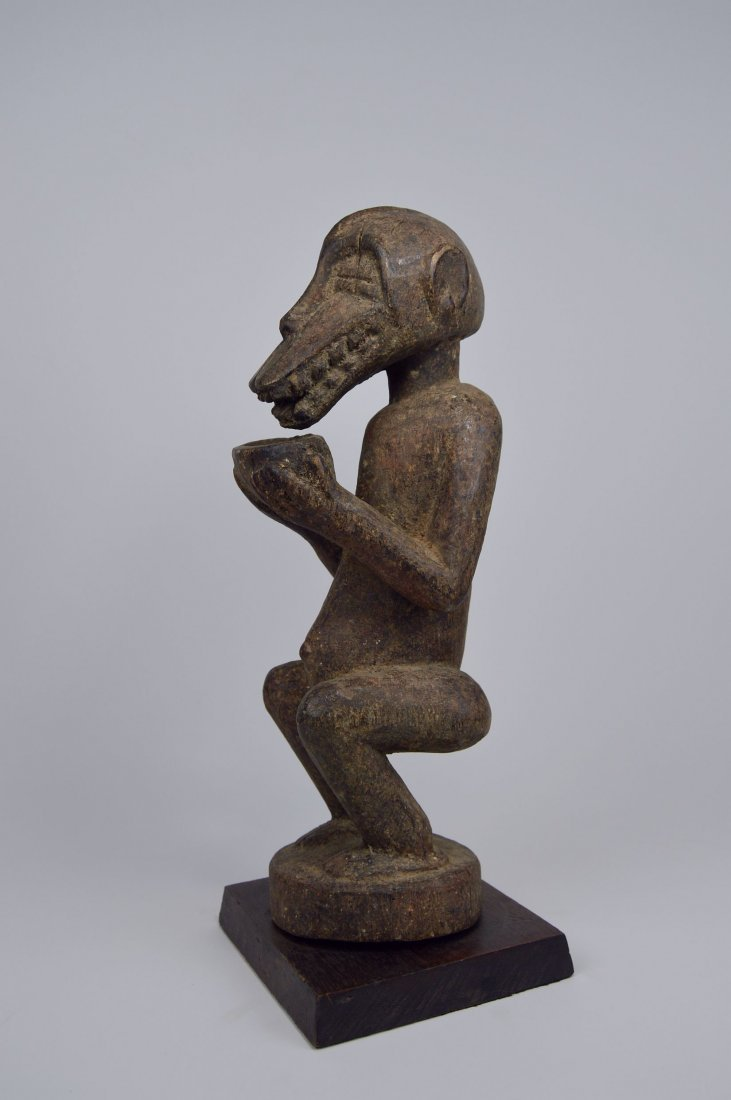 Baule Mbra Monkey fetish sculpture, African Art