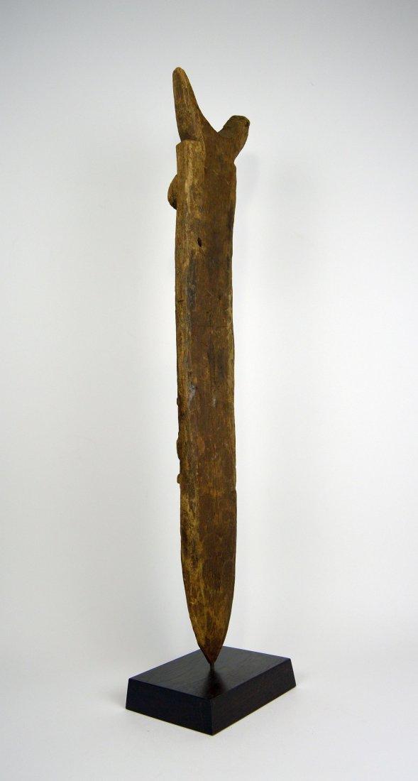 Dogon Toguna Post with Ancestor image, African Art - 6