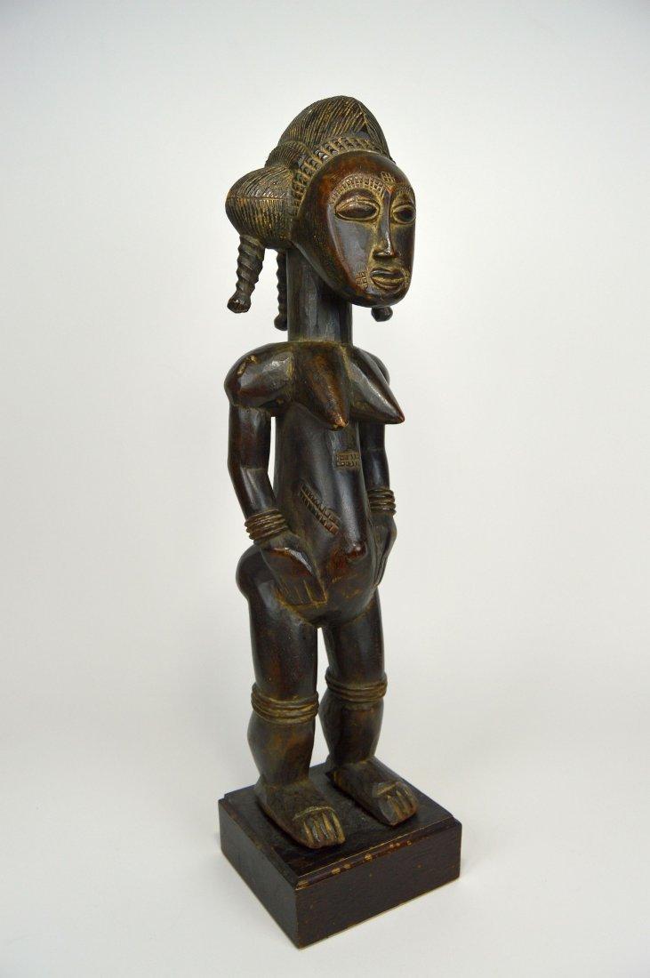 A Lovely Baule Female Sculpture, African Art
