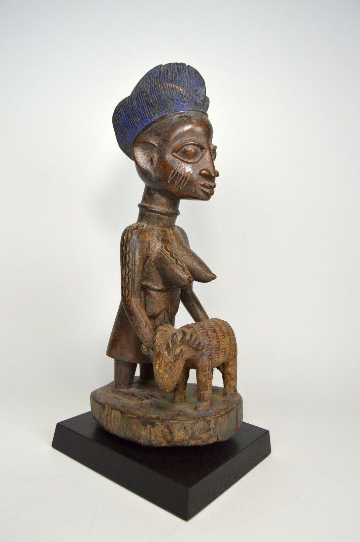 A Yoruba Female Offering Ram, African Tribal Art