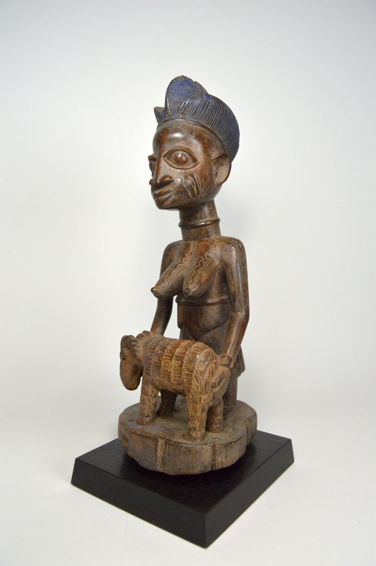 A Yoruba Female Offering Ram, African Tribal Art - 2