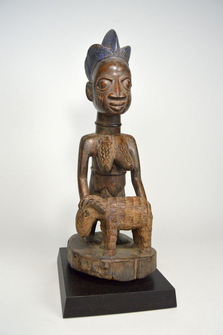 A Yoruba Female Offering Ram, African Tribal Art - 3