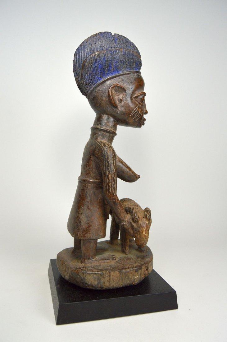 A Yoruba Female Offering Ram, African Tribal Art - 4