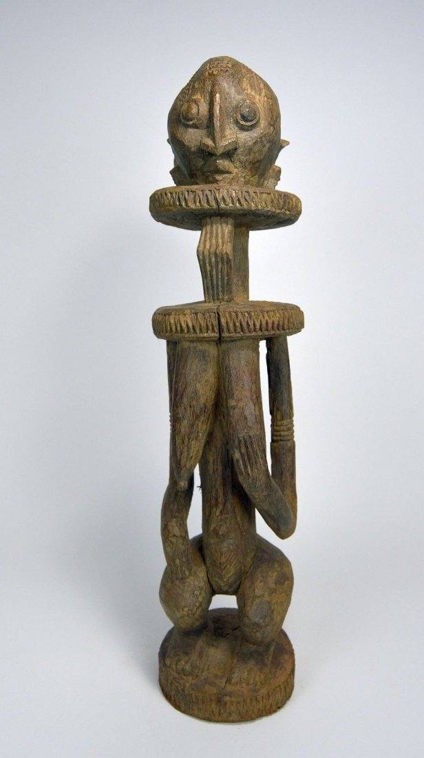 Abstract Dogon female sculpture, African Art - 3