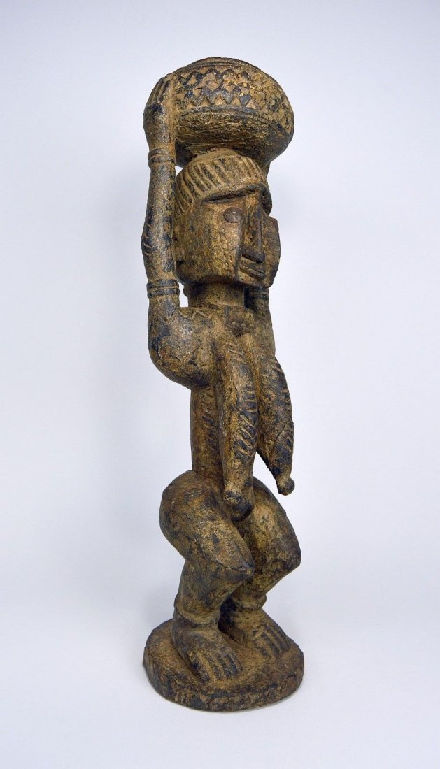 Dogon female carrying Burden , African Art