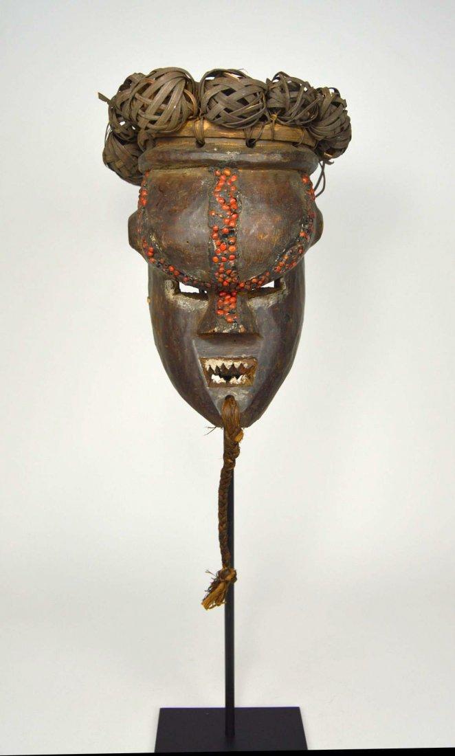 Salamapasu Initiation Mask with Headdress, African Art
