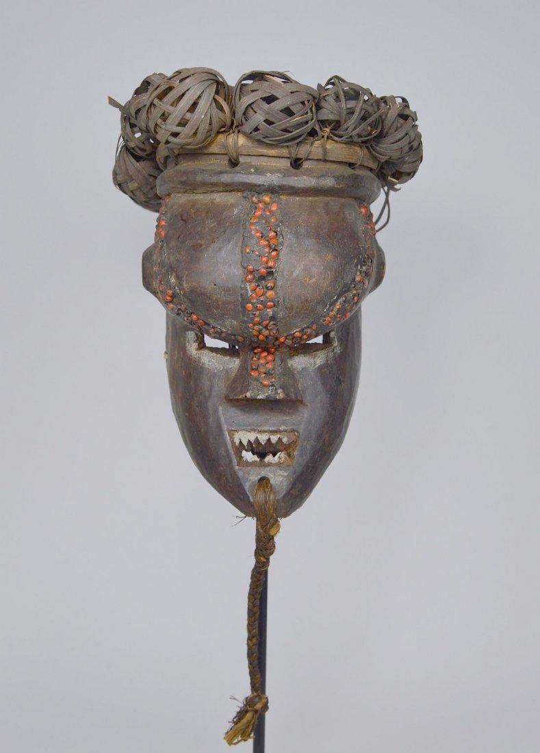 Salamapasu Initiation Mask with Headdress, African Art - 2