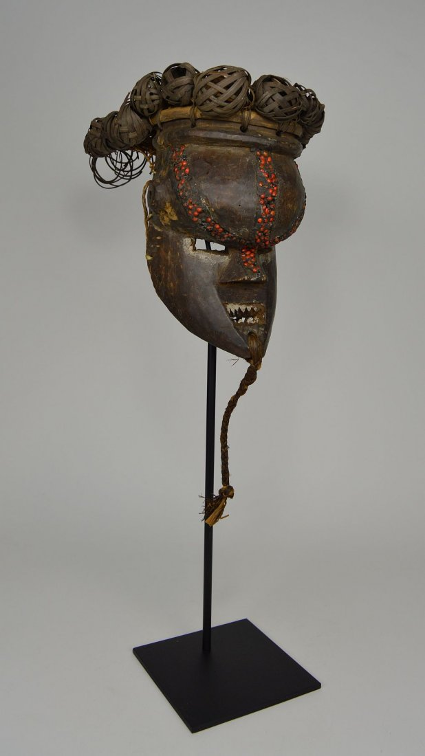 Salamapasu Initiation Mask with Headdress, African Art - 3