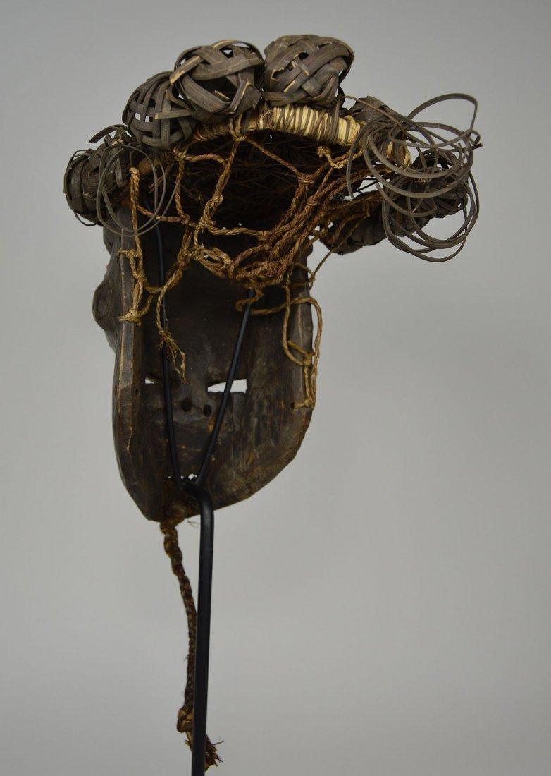 Salamapasu Initiation Mask with Headdress, African Art - 5