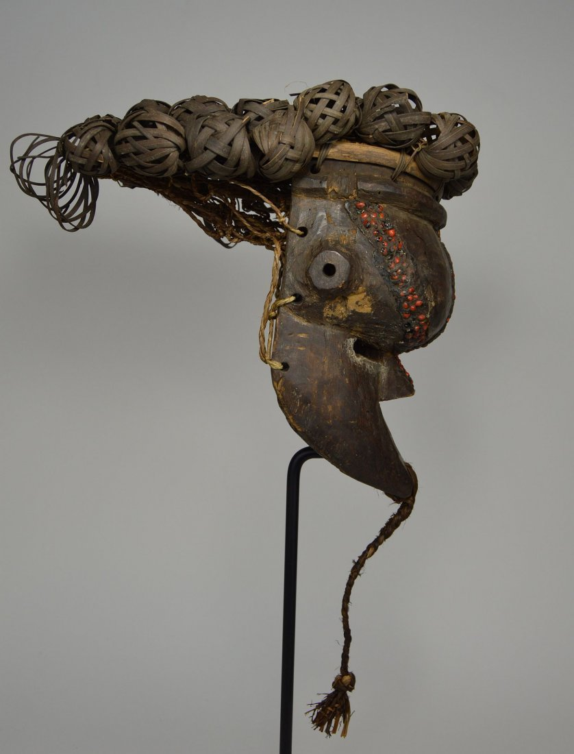 Salamapasu Initiation Mask with Headdress, African Art - 6