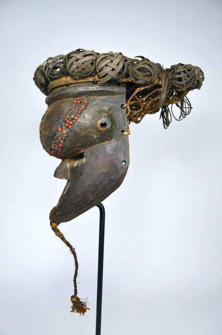 Salamapasu Initiation Mask with Headdress, African Art - 7