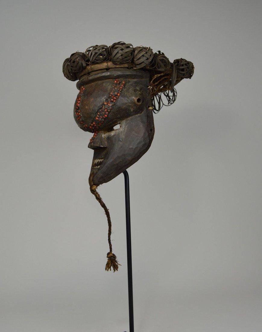 Salamapasu Initiation Mask with Headdress, African Art - 8