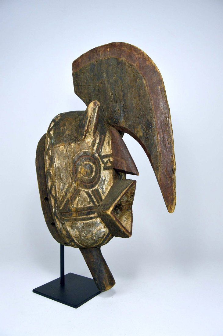 Wonderfully Abstract Bwa Kobiay Dance mask