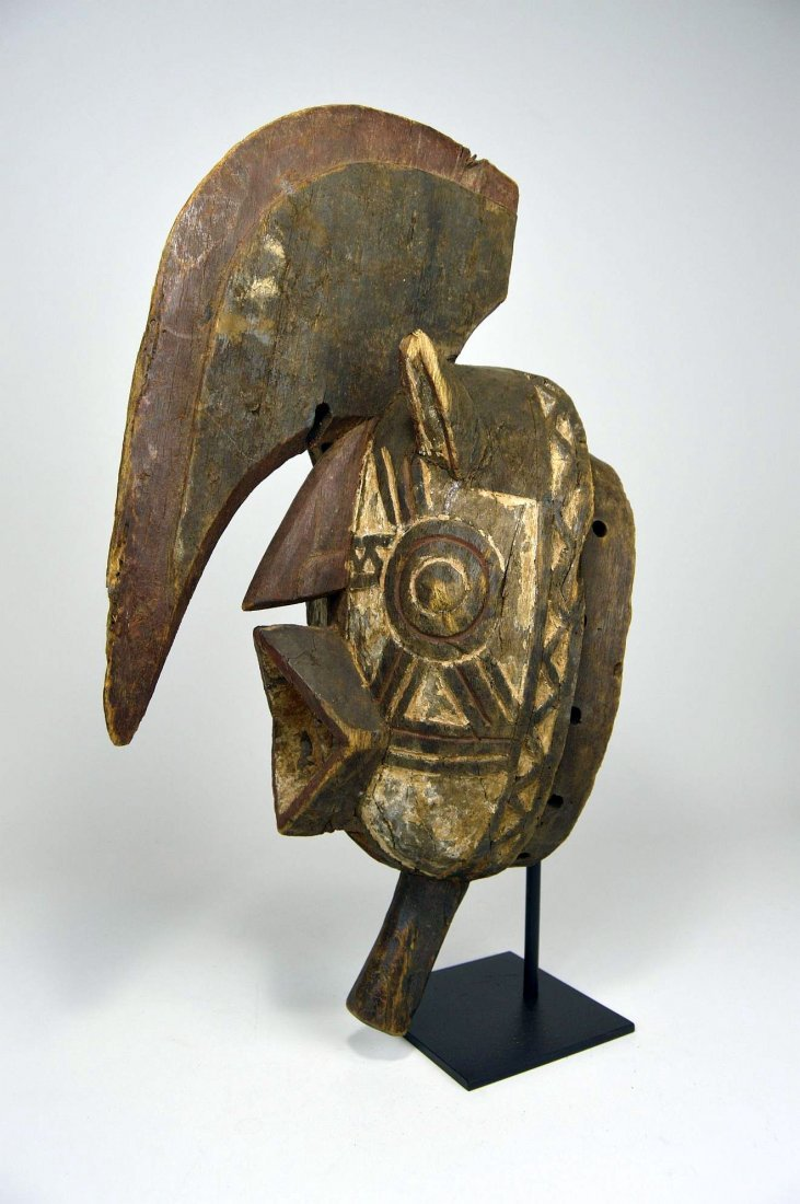 Wonderfully Abstract Bwa Kobiay Dance mask - 2