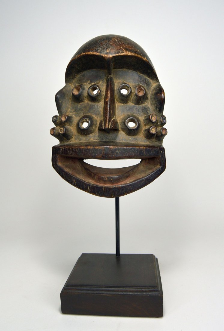 A Fantastic Guere mask with Multiple eyes, African Art