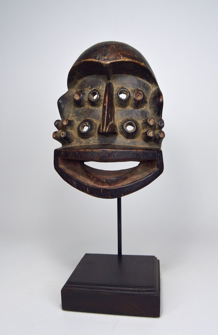 A Fantastic Guere mask with Multiple eyes, African Art - 2