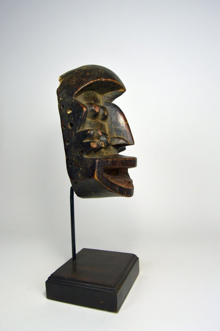 A Fantastic Guere mask with Multiple eyes, African Art - 7