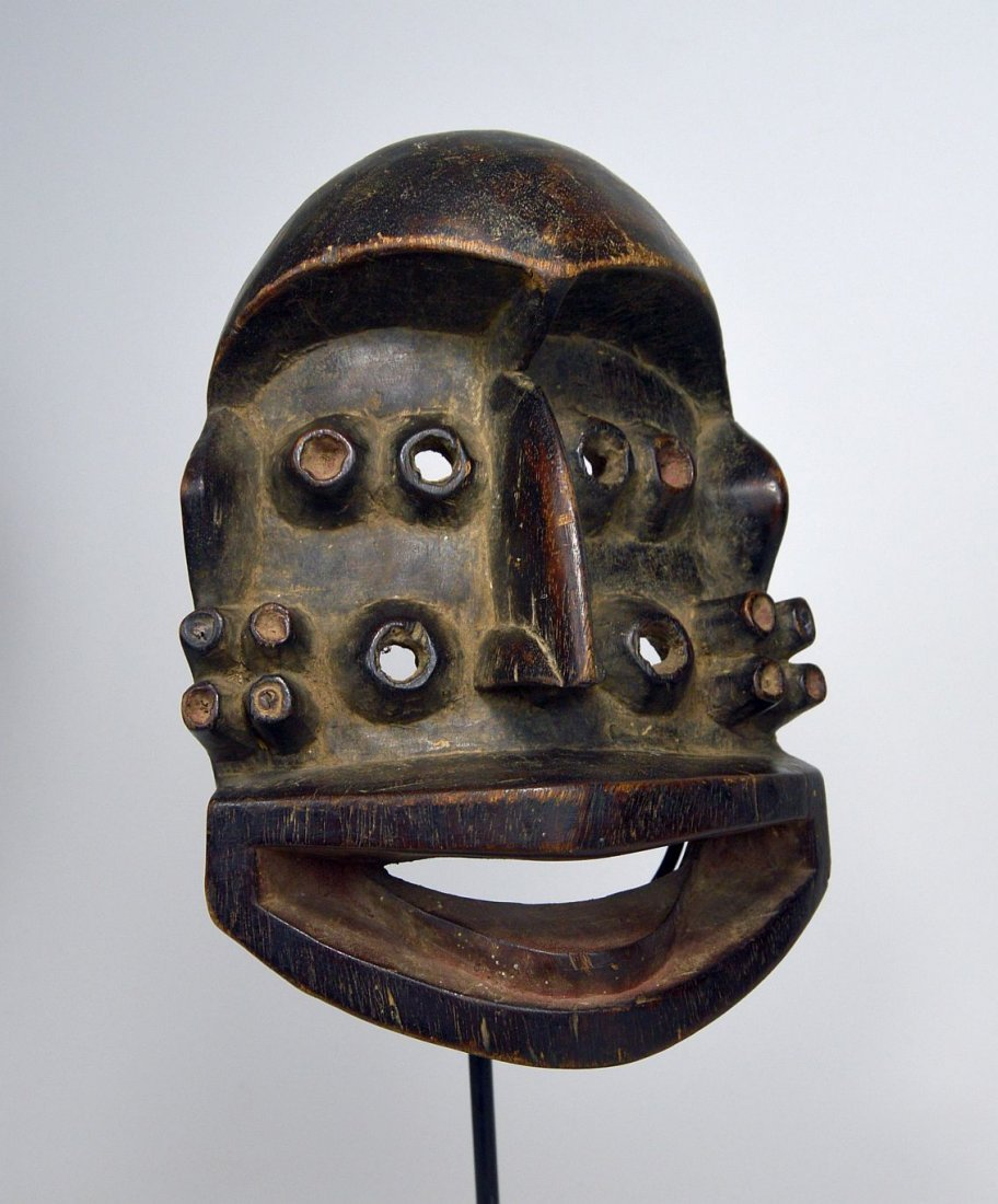 A Fantastic Guere mask with Multiple eyes, African Art - 8