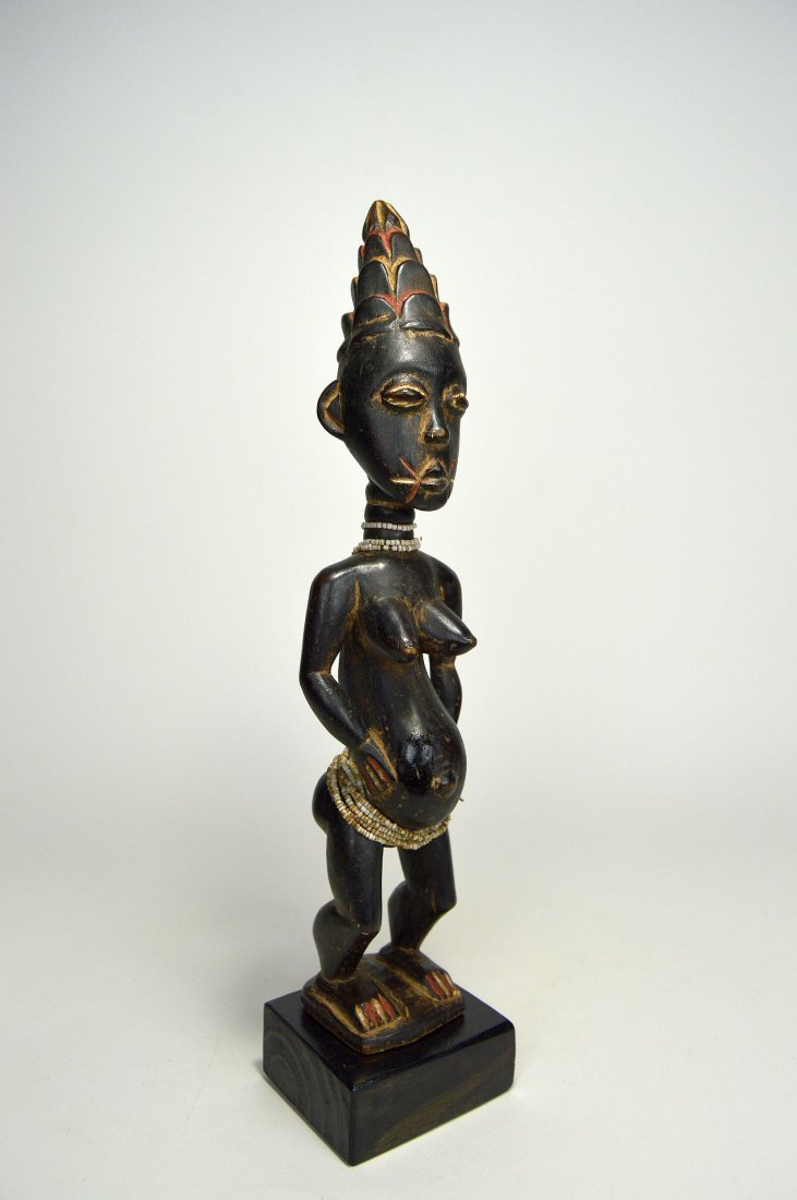 A Lovely Lagoons Area Female sculpture, African Art