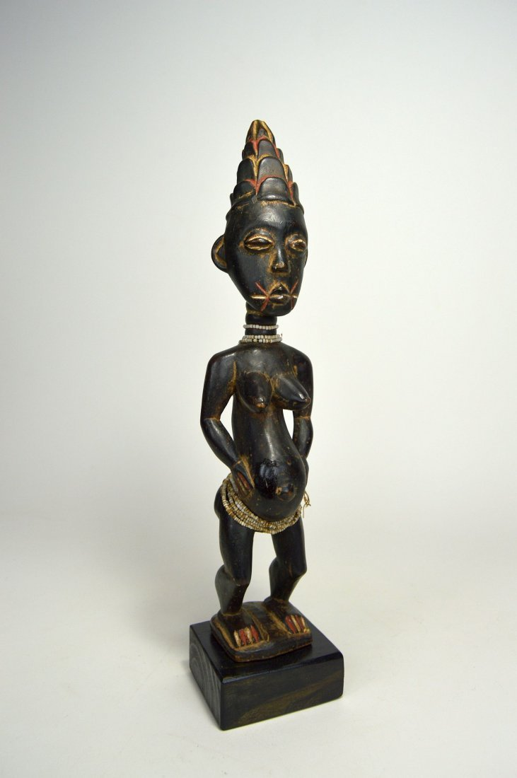A Lovely Lagoons Area Female sculpture, African Art - 2