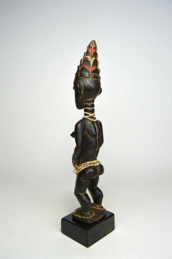 A Lovely Lagoons Area Female sculpture, African Art - 4