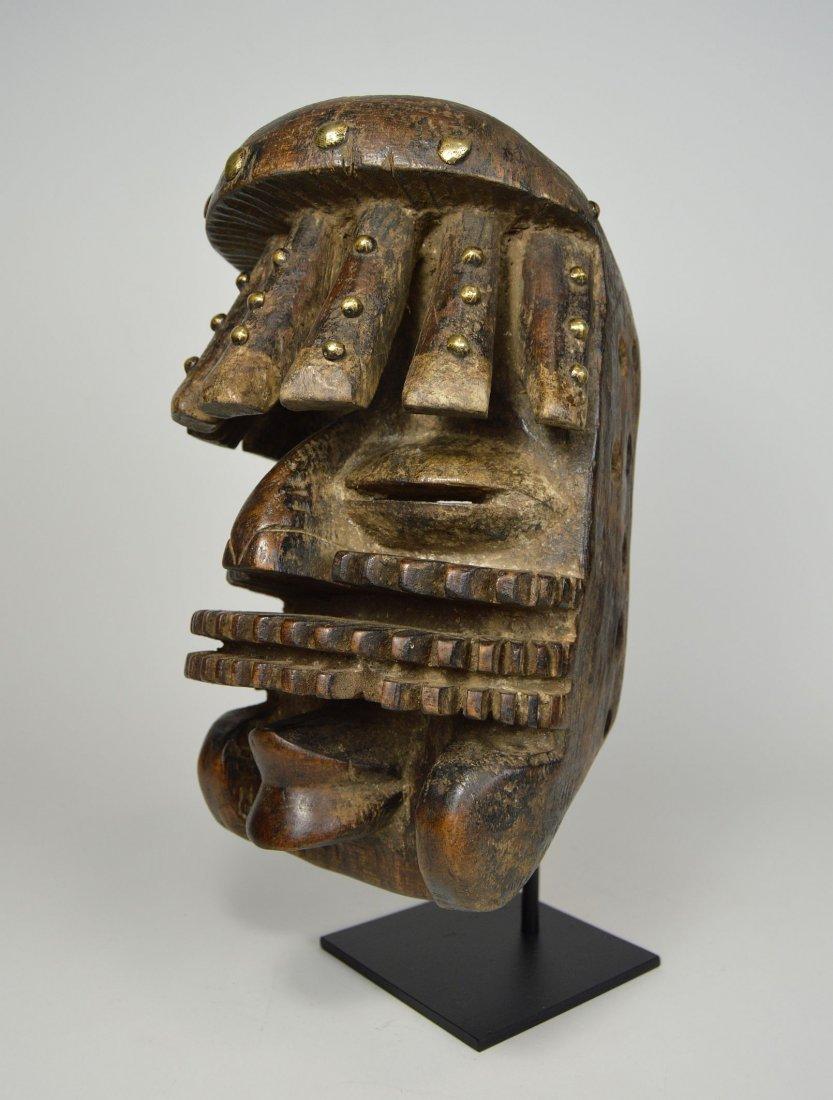Complex Guere African mask, African Art