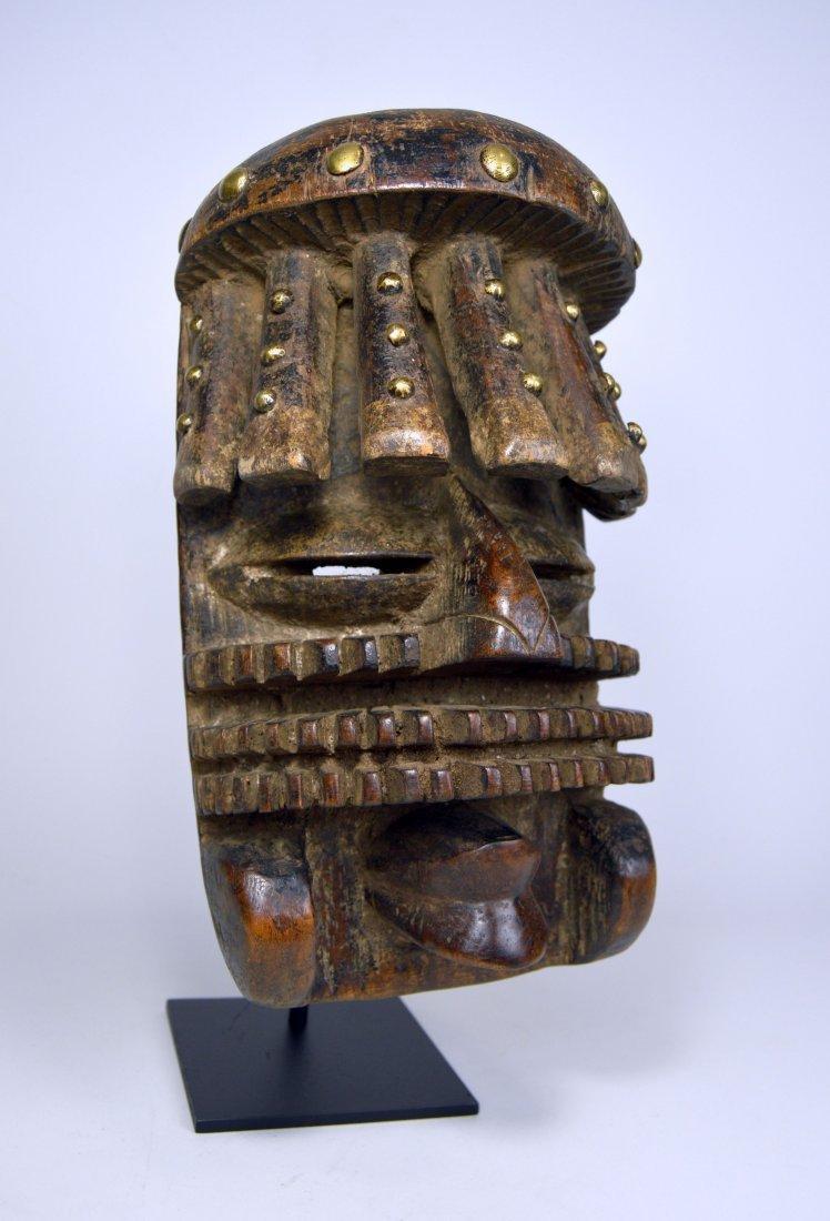 Complex Guere African mask, African Art - 2
