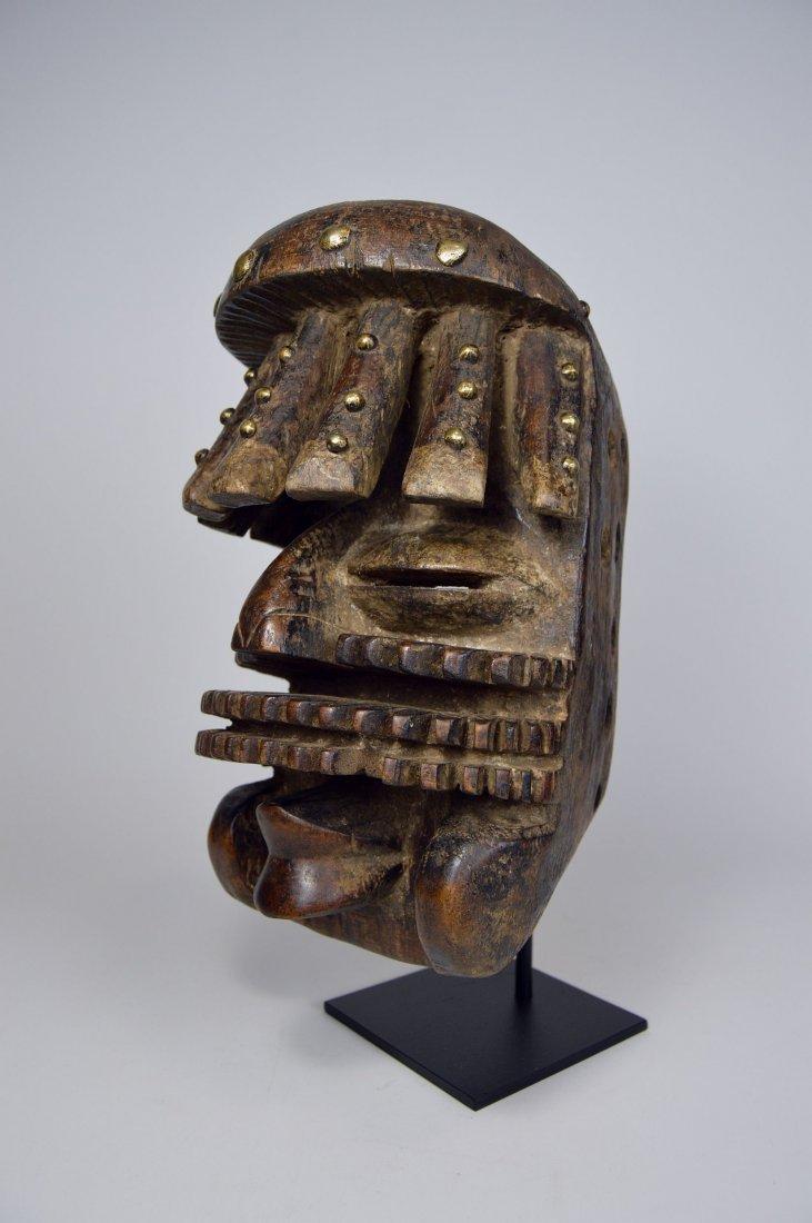 Complex Guere African mask, African Art - 3