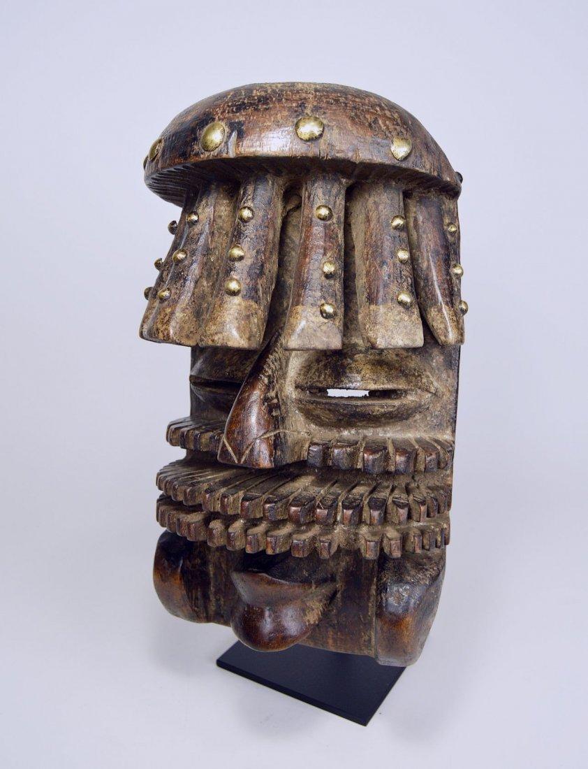 Complex Guere African mask, African Art - 4