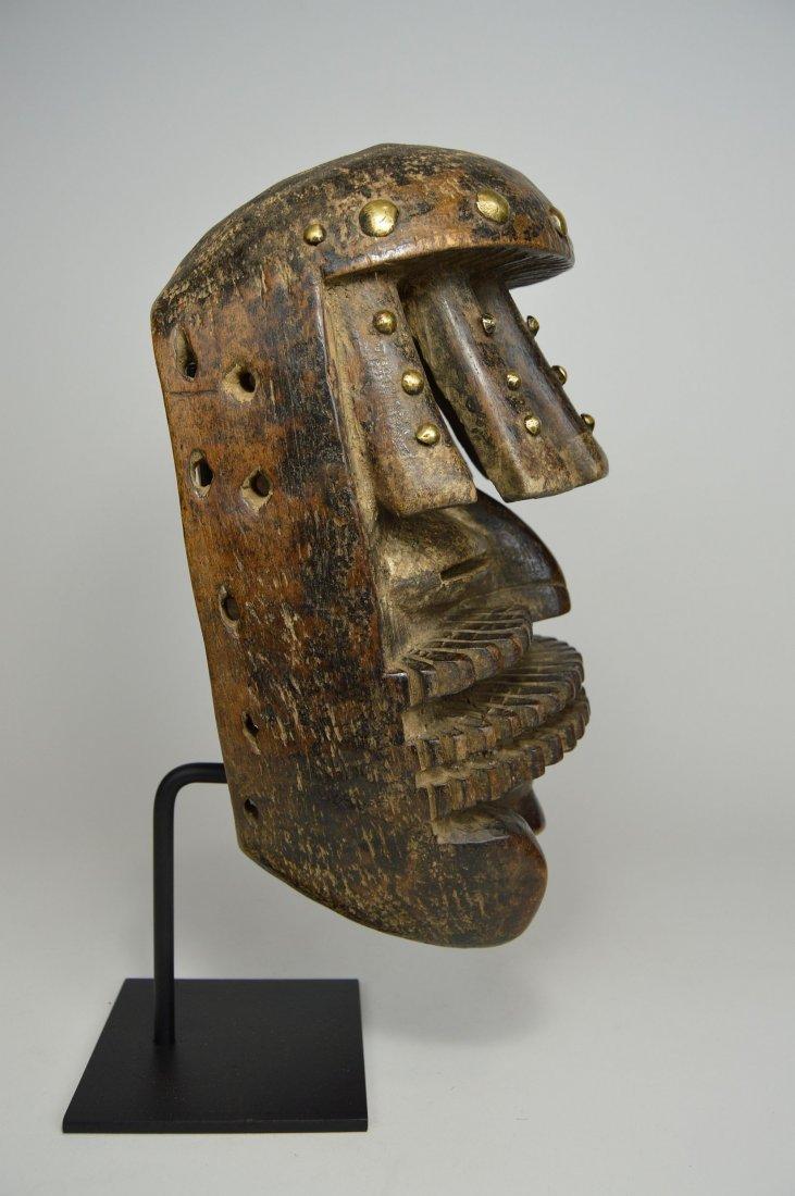 Complex Guere African mask, African Art - 7