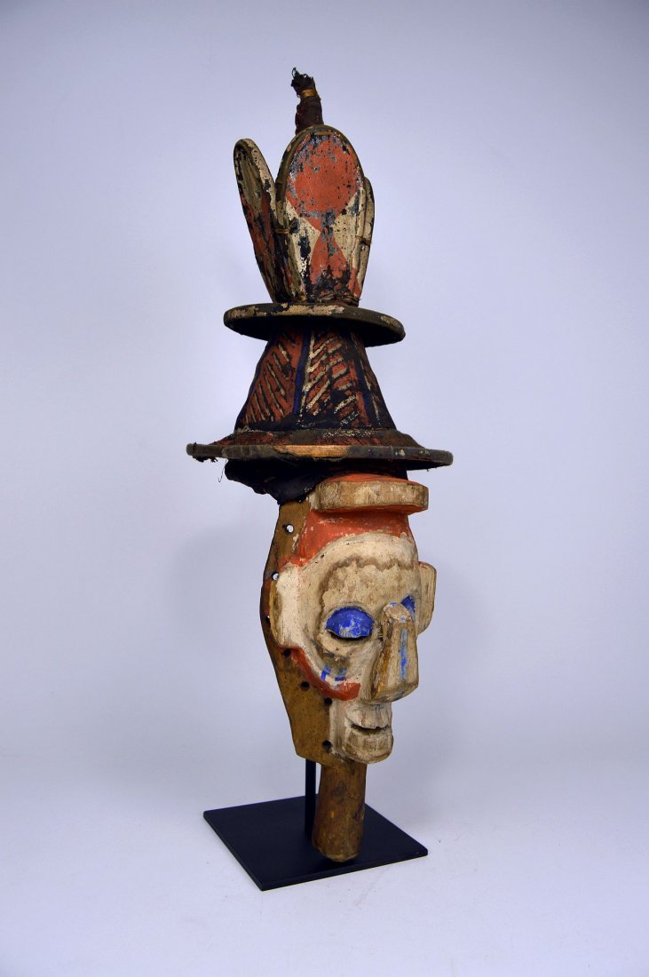 A Yaka Kholuka Initiation Mask, African Art