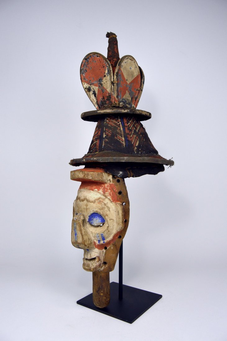 A Yaka Kholuka Initiation Mask, African Art - 2