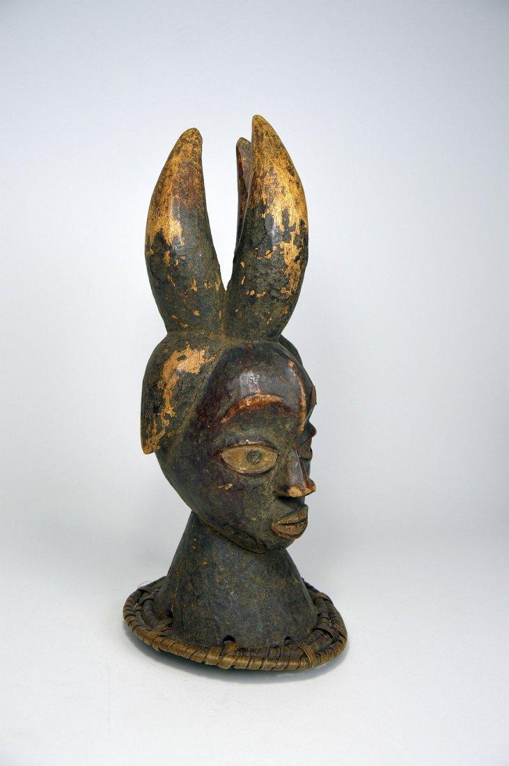Old Ekoi / Ejagham Dance Crest, Cross River African Art