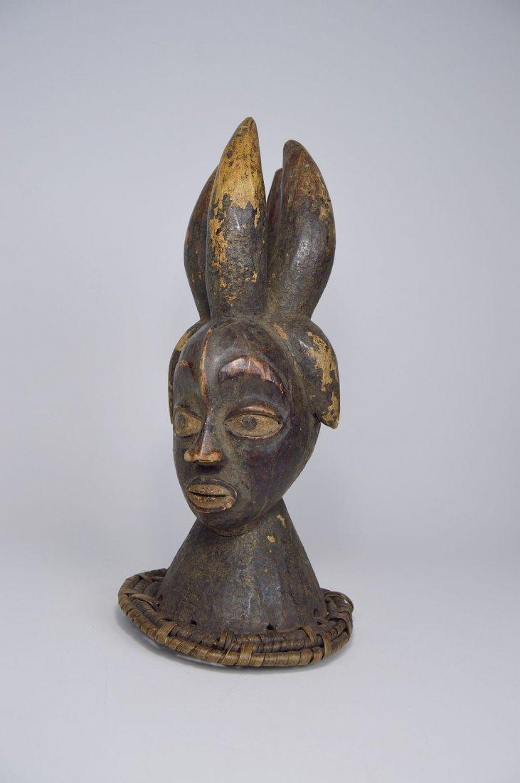 Old Ekoi / Ejagham Dance Crest, Cross River African Art - 3