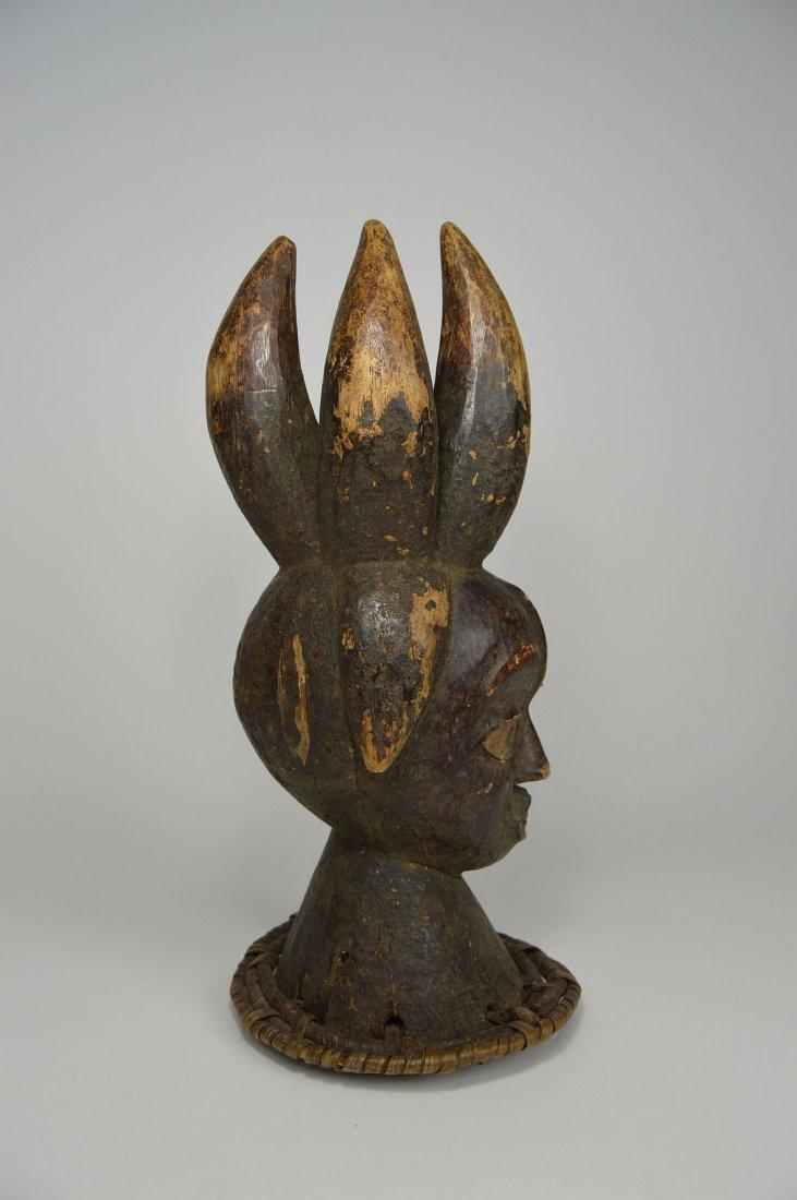 Old Ekoi / Ejagham Dance Crest, Cross River African Art - 5