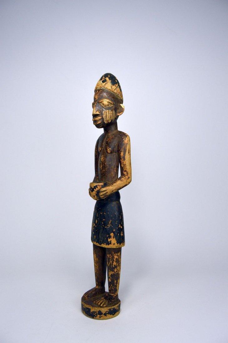 Yoruba Colonial Era Sculpture, African Tribal Art - 3