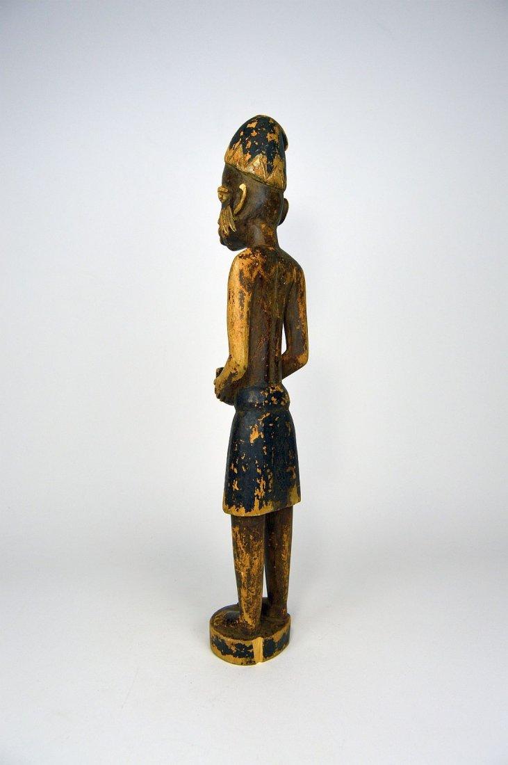 Yoruba Colonial Era Sculpture, African Tribal Art - 4